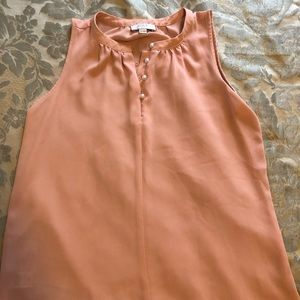 Salmon color formal dress shirt